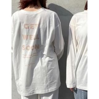 w closet - w closet ノベルティ ロングTシャツ
