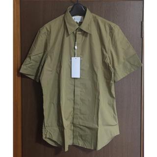 マルタンマルジェラ(Maison Martin Margiela)の41新品50%off メゾン マルジェラ カットアウト 半袖 シャツ デストロイ(Tシャツ/カットソー(半袖/袖なし))