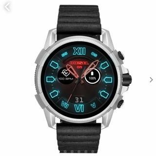 ディーゼル(DIESEL)のDIESEL ディーゼル スマートウォッチ メンズ 腕時計 ブラック(腕時計(デジタル))