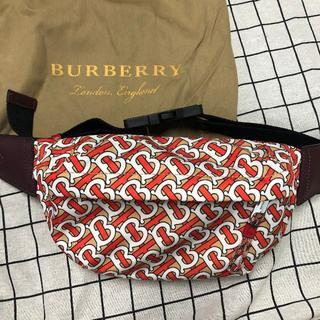 BURBERRY - BURBERRY モノグラムプリント クロスボディバッグ TB バーバリー
