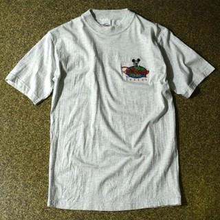 ディズニー(Disney)のTHE DISNEY STORE LONDON 刺繍 モックネックTシャツ(Tシャツ/カットソー(七分/長袖))