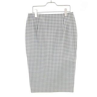 LE CIEL BLEU - 7月価格 50%OFF 希少 新品 タグ付き ギンガムチェックレザースカート