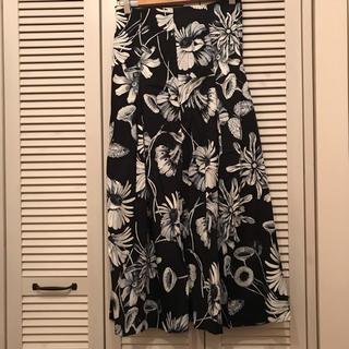 定価7990円 ZARA 花柄マキシスカート