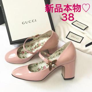 グッチ(Gucci)の新品本物♡GUCCIグッチ♡蜂モチーフ♡パンプス♡38(ハイヒール/パンプス)