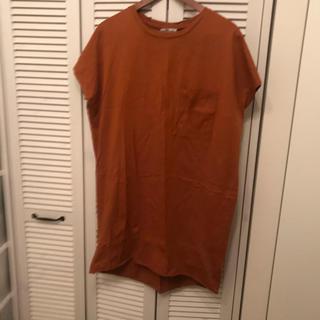 ZARA - ZARA オレンジ ロングTシャツ