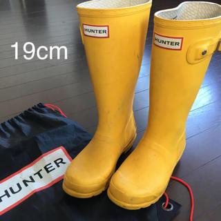 ハンター(HUNTER)の中古ハンター Hunter 子供用長靴 19センチ(長靴/レインシューズ)