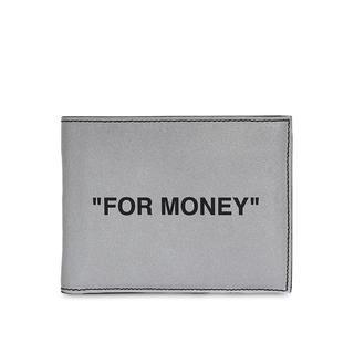 オフホワイト(OFF-WHITE)のOff-White FOR MONEY ウォレット オフホワイト(折り財布)