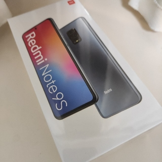 【新品未開封】Redmi Note 9S 4/64G 【Aurora Blue】