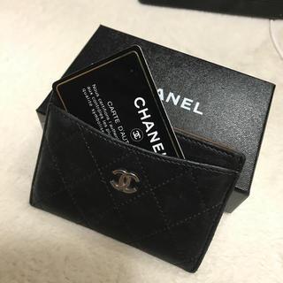 シャネル(CHANEL)のCHANEL 名刺入れ(名刺入れ/定期入れ)