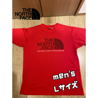 THE NORTH FACE - ᎢHE NORTH FACE ロゴTシャツ Lサイズ