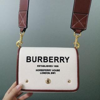 BURBERRY -  Burberry キャンバスクロスボディーバッグ