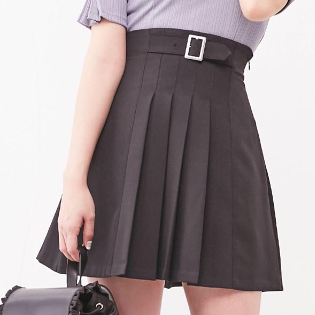 EATME(イートミー)のまる様専用 フロントプリーツスカート レディースのスカート(ミニスカート)の商品写真