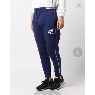 NIKE - 新品 NIKE スウェットパンツ ジョガーパンツ テーパードパンツ スポーツ 紺