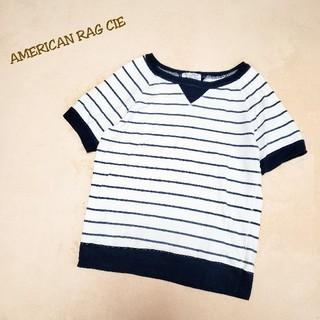 アメリカンラグシー(AMERICAN RAG CIE)のAMERICAN RAG CIE スウェットトップス ボーダー Tシャツ(Tシャツ/カットソー(半袖/袖なし))