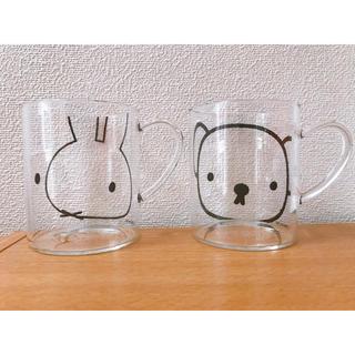 ミッフィー ボリス 耐熱ガラスマグ マグカップ ガラスマグ