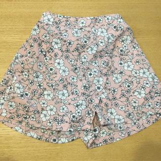 MPS - 花柄 ラップキュロットスカート 110cm