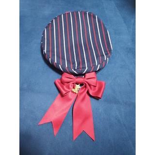 アリパイ レジメンタルリボンベレー帽 未使用 ミリロリ ロリータ