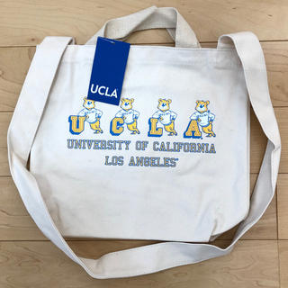 UCLA トートバッグ ショルダーバッグ ⭐︎新品未使用(トートバッグ)