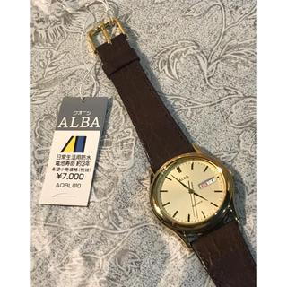 アルバ(ALBA)の★ 未使用新品 SEIKO ALBA アルバ 薄型 腕時計 ユニセックス(腕時計(アナログ))