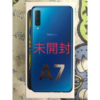 SAMSUNG - Galaxy A7 64GB 新品未開封 SIMフリー 値引き不可