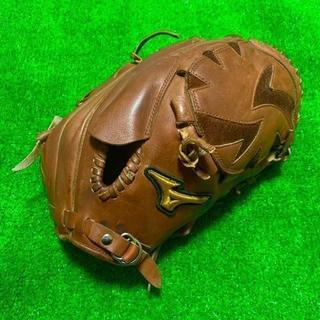 MIZUNO - 高校野球対応 ミズノプロ キップレザー 硬式用 投手用 浅尾拓也型 グローブ