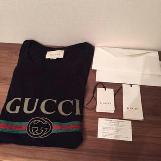 グッチ(Gucci)の定価48600円 GUCCI ロゴウォッシュドオーバーサイズTシャツ(Tシャツ/カットソー(半袖/袖なし))