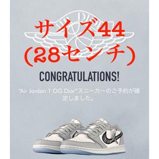 NIKE - 【44サイズ】Dior × Nike Air Jordan1 Low