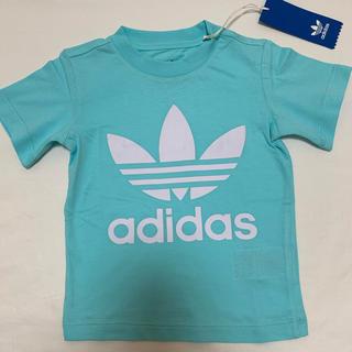 アディダス(adidas)の新品 アディダス オリジナルス トレフォイル  半袖 Tシャツ 90(Tシャツ/カットソー)