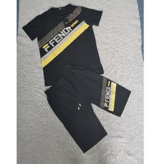 FENDI - フェンディFendi Tシャツ+ショットパンツ 二点セット ファション