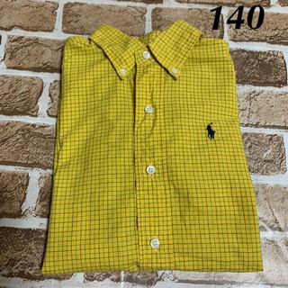 ラルフローレン(Ralph Lauren)のラルフローレン  チェックシャツ  140(その他)