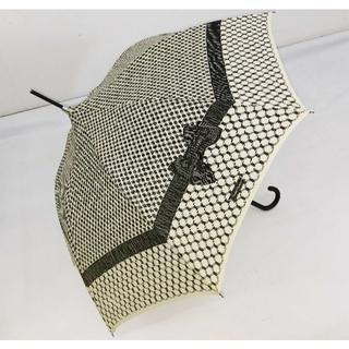 シャンタルトーマス(Chantal Thomass)のChantal Thomass 雨傘/日傘 リボン CT406(アイボリー)(傘)
