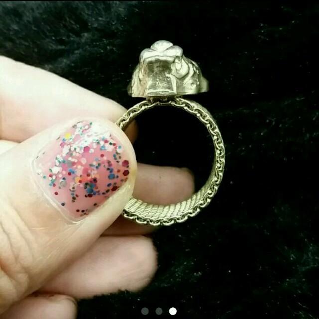 PAPILLONNER(パピヨネ)のパピヨネ★レオパードリング レディースのアクセサリー(リング(指輪))の商品写真