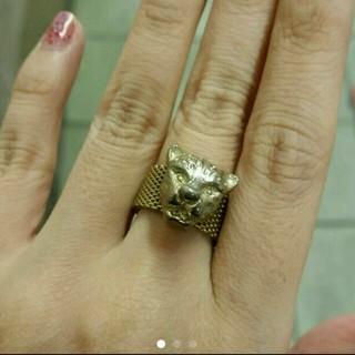 パピヨネ(PAPILLONNER)のパピヨネ★レオパードリング(リング(指輪))