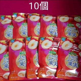 明治 - 果汁グミ とろけるふたつの果実 プラム&ライチジュレ52g×10個