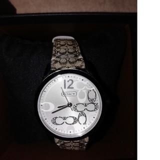 COACH - 【破格!!】COACH レディース腕時計 ほぼ未使用品