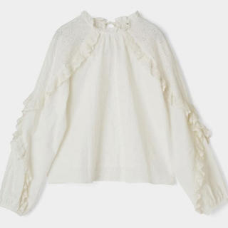moussy - Moussy   EMBROIDED LACE ブラウス