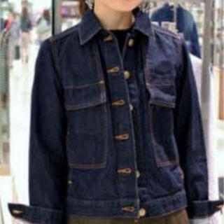 イエナ(IENA)の美品 ヴェトモン ドゥ トラバイユ イエナ デニムジャケット Gジャン36サイズ(Gジャン/デニムジャケット)