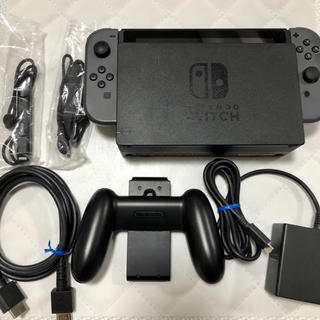Nintendo Switch - Nintendo Switch グレー 旧型 中古美品