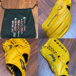 ミズノ(MIZUNO)の野球 外野用 左投用(レフティ)(グローブ)