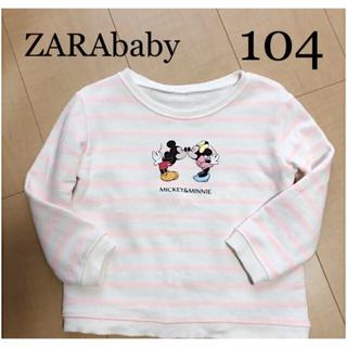 ZARA KIDS - ZARA baby  ミッキーミニー スウェット 104
