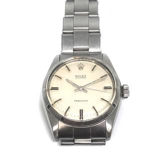 ロレックス(ROLEX)のロレックス オイスター  oyster precision 手巻き 稼働品本物 (腕時計(アナログ))
