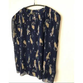 トゥモローランド(TOMORROWLAND)の新品タグ付き ballsey ブラウス(シャツ/ブラウス(半袖/袖なし))
