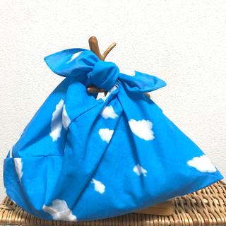 【ハンドメイド】あずま袋 空 ブルー系(あづま袋・吾妻袋)