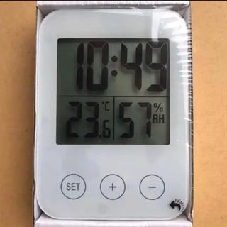 IKEA - イケア SLÅTTIS スロッティス クロック 湿度計 温度計付多機能時計