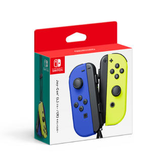 Nintendo Switch - 未開封新品 Joy-Con (L) ブルー / (R) ネオンイエロー 即購入可