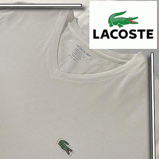 LACOSTE - 美品 USモデル lacoste vネック ワンポイント tシャツ
