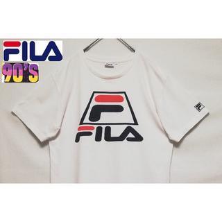 フィラ(FILA)の132 90年代 FILA フィラ 刺繍ロゴ Tシャツ(Tシャツ/カットソー(半袖/袖なし))