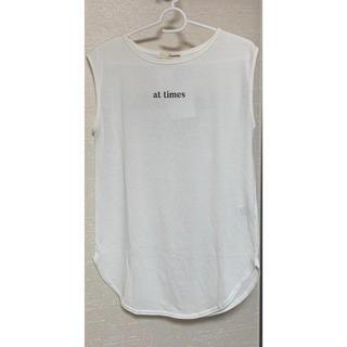 dholic - 新品未使用 バックロゴTシャツ