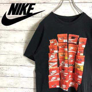 NIKE - 【大人気】ナイキNIKE☆ビッグロゴ シューズボックス ブラック半袖Tシャツ