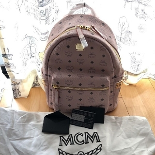 MCM - mcmバッグ 新作カラー パウダーピンク